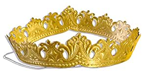 Walter Kunze Design Dresden Royal Tiara or Princess Crown, Gold