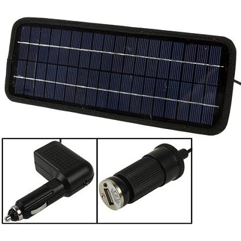 Cargador De Batería 4.5W 12V Silicio Poli Coche Panel Solar Para Coches / Camiones / Barco / Moto, Soporte Plug Usb 2.0, Tamaño: 32 X 12 X 0,6 Cm (Tx1245)