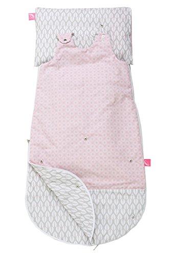 Motherhood 3 in 1 Babyschlafsack mit Kopfkissen und Kissenbezug Bäume rosa