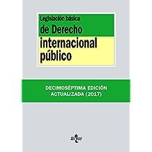 Legislación básica de Derecho Internacional público (Derecho - Biblioteca De Textos Legales)