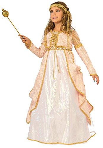 (Rubie's Costume Kids Deluxe Shimmering Princess Costume, Medium)