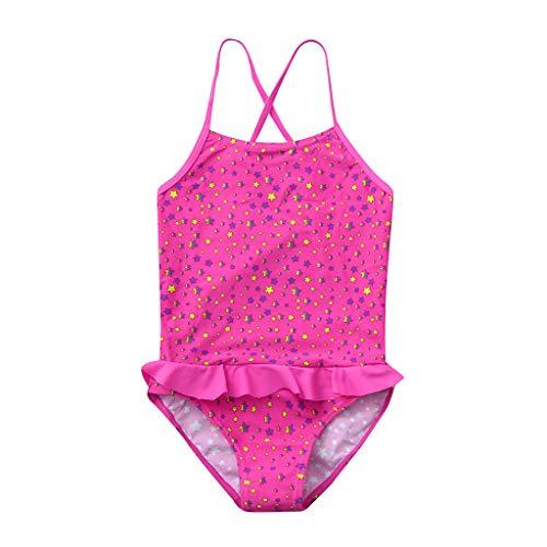 cc94d406cb33 Innerternet Costumi da Bagno Interi da Ragazzo, Bikini Stampa a Stelle  Bambina, Brasiliana Slip