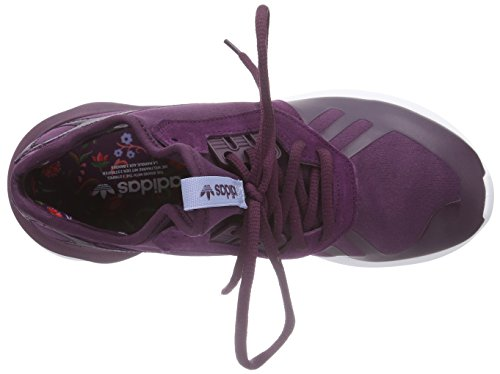 adidas Originals Tubular Runner, Chaussures de course femme Rouge - Rot (Merlot F15-St /Merlot F15-St /Periwinkle F15-St)