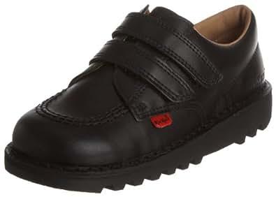 Kickers Kick Lo Vel Kids' School Shoes - Black, 5 UK (22 EU)