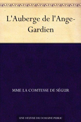 Couverture du livre L'Auberge de l'Ange-Gardien