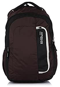 American Tourister Polyester Brown Casual Backpack (29W (0) 03 005)