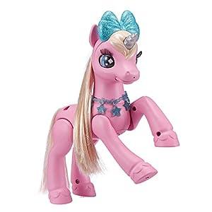 Zuru 36680 - Figura Decorativa de Unicornio para Mascotas, Color Rosa