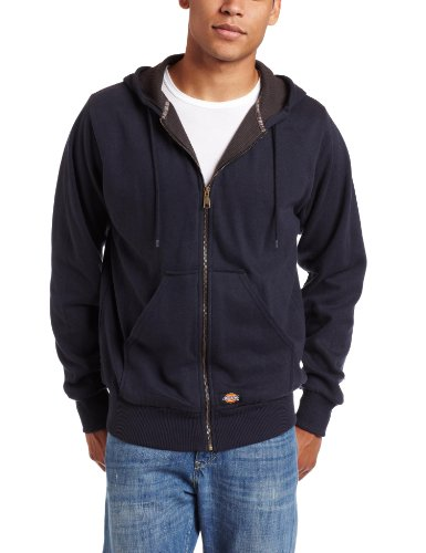Dickies Tw382 Thermal Lined Hooded Fleece Jacket, 5X-Large, Dark Navy (Thermal Dickies)