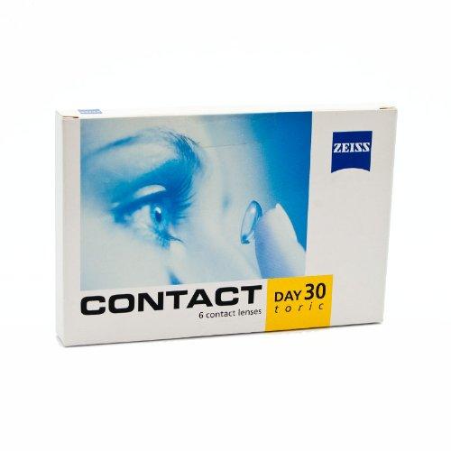 Zeiss Kontaktlinsen - Contact Day 30 Toric - 6er Box (-6 -0,75x180)