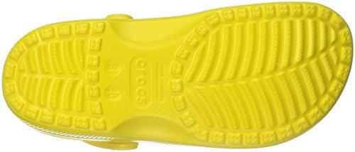 crocs Unisex-Erwachsene Classic Clogs Gelb (Zitrone)