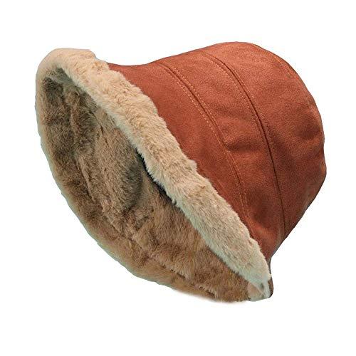 Nosterappou Épais et confortable porter des chapeaux de pêcheur pour les hommes et les femmes hiver chauds chapeaux de bassin en laine, chapeaux pour les activités en plein air, chapeaux sauvages de l