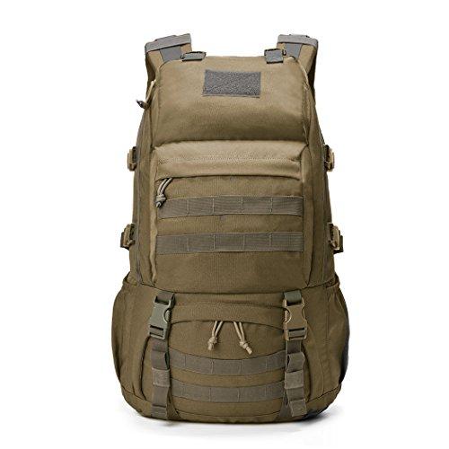 Imagen de mountaintop 40l  militar /táctica molle / acampada /camping /senderismo/ deporte/ backpack de asalto patrulla caqui i  alternativa