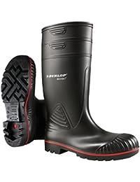 Dunlop A442031 S5 ACIF. KNIE ZWART#48 - Botas de Agua Unisex