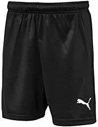 PUMA Liga Shorts Core Jr - Pantalones Cortos de Fútbol Unisex niños