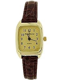 Philip Mercier SML09C - Reloj para mujeres, correa de plástico color marrón