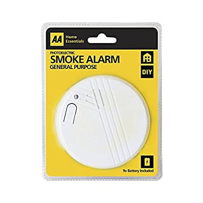 Status International AA Photoelectric Smoke Alarm, 9 V
