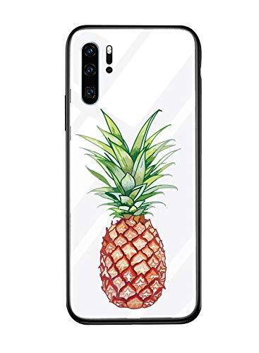 Caler Hülle Kompatibel mit Samsung Galaxy A8+ 2018/A8 Plus 2018 Hülle 9H Gehärtetem Marmor Glas Rückseite mit TPU Rahmen Schutzhülle Ultra Dünn Handyhülle Rahmen Hüllen [Stoßfest] Slim Shell Case