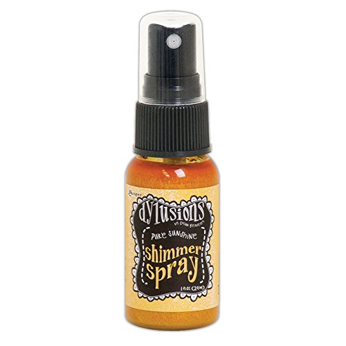 Ranger Dylusions Shimmer spray Pure Sunshine, materiale sintetico, giallo, 9.8x 2.9x 2.9cm