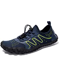Zapatos de Agua Unisex Hombre Mujer Niña Niños Calzado de Natación Secado  Rápid para Buceo Snorkel Surf Piscina Playa Yoga Deportes… 0804f4d7bdd