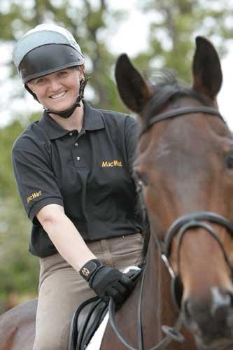 Macwet Climatec Equestrian Horse Riding Gloves longer cuff
