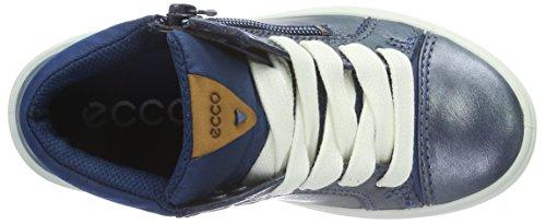 Ecco ECCO GINNIE, Baskets Hauts fille Bleu (Poseidon 59632)