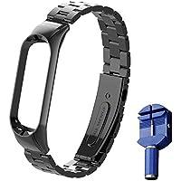 WANFEI per Mi Band 5 Cinturino in Acciaio Inossidabile Braccialetto di Ricambio per Xiaomi Mi Band 5 Smart Miband 5…