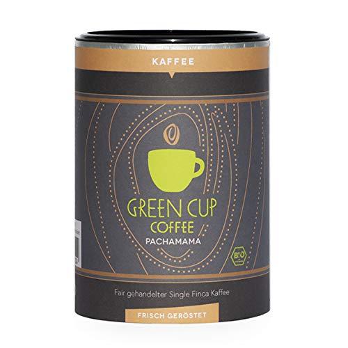 Green Cup Coffee Pacha Mama - der Hochlandkaffee aus Peru - sortenreine Fairtrade Kaffeebohnen - der faire Kaffee für Genießer - Bio Bohnen - 227g Dose gemahlen