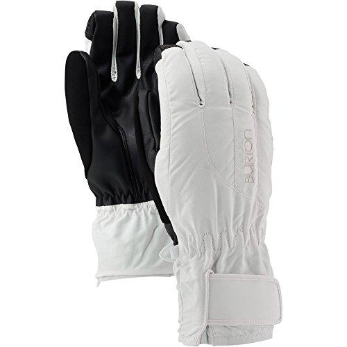 Damen-profil-snowboard Handschuhe (Burton Damen Snowboardhandschuhe WB Profile UNDGL, Stout White, L, 10363101101)