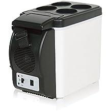 CUKKE 6L 12V Mini 6L coche pequeño frigorífico coche enfriador / calentador portátil del coche pequeño refrigerador de refrigeración