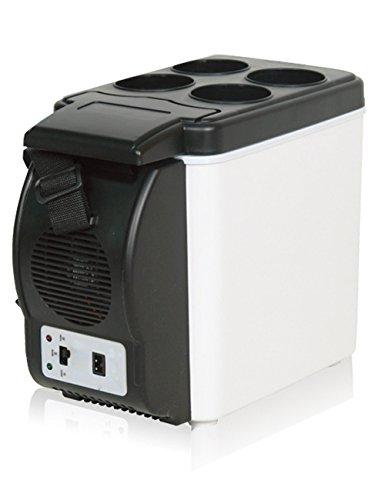 CUKKE 6L 12V Mini Auto Kleinen Kühlschrank Auto Kälte Speicher Isolierung Tragbaren Kühlschrank Tragbarer Kühler / Wärmer