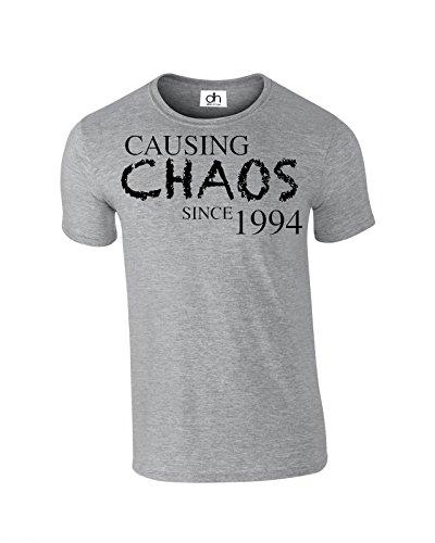 H&D -  T-shirt - Uomo Grigio