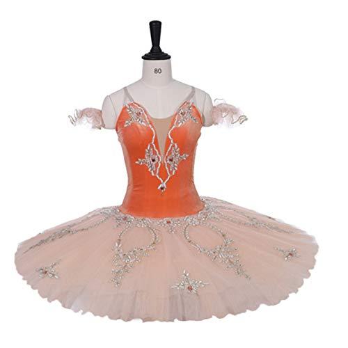 DILIKEXUE Erweiterte Benutzerdefinierte Ballett Rock Professionelle Tutu Rock 7 Schicht Harte Net Erwachsene Kinder Tanzleistung Kleidung Elastische Kraft,16