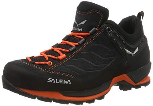 Salewa Herren MS MTN Trainer Trekking- & Wanderhalbschuhe, Mehrfarbig (Asphalt/Fluo Orange 985), 43 EU
