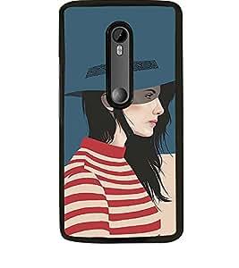 Fuson Designer Back Case Cover for Motorola Moto G Turbo Edition :: Virat FanBox Moto G Turbo Virat Kohli (comic character cap t shirt strips)