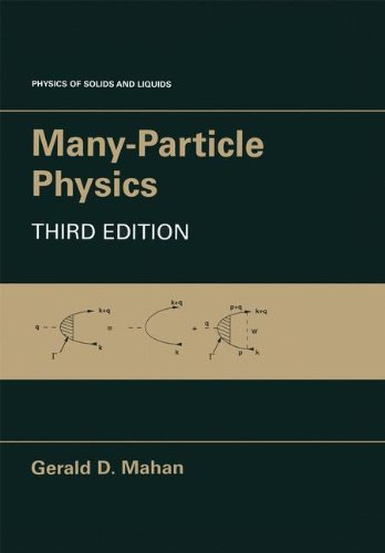 Many-Particle Physics