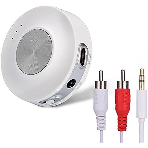 [2016]Avantree Transmisor Bluetooth para TV BAJA LATENCIA (versión aptX LL), Adaptador inalambrico, Soporta Dos Auriculares o Altavoces al mismo Tiempo - Priva II