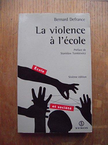 La violence  l'cole