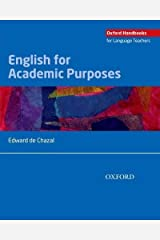 [(English for Academic Purposes)] [Author: Edward de Chazal] published on (April, 2014) Unknown Binding