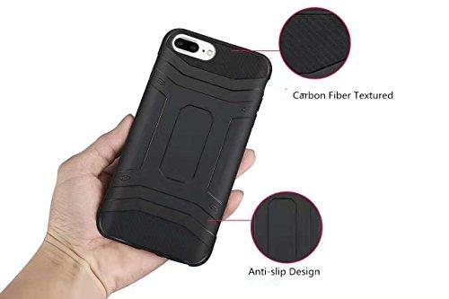 iPhone 6/6S/7Plus case 14cm armatura custodia ammortizzante TPU custodia cover posteriore universale Apple Phone custodia per iPhone 6/6S/7Plus Blue