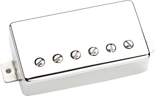 Seymour Duncan SSH-2B NCOV 4C Jazz Classic Cover, Bridge Position 4 Conductor Cable nickel (Nickel Seymour Duncan Cover)