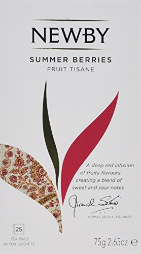 Newby Teas Classic Summer Berries Teabags, 25-Count