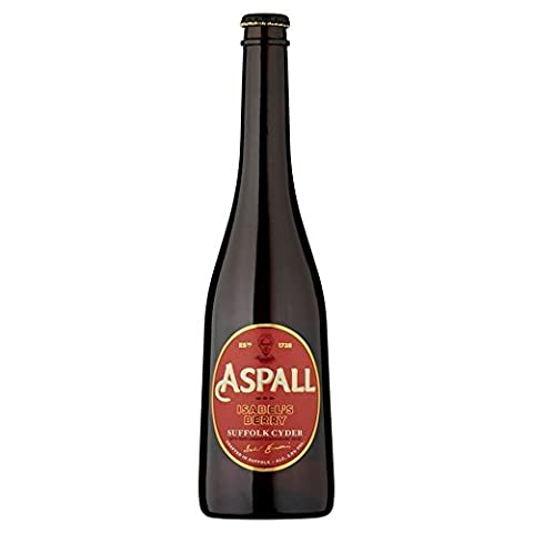 Aspall Isabel's Berry Suffolk Fruit Cyder 500ml - (Pack of 2)