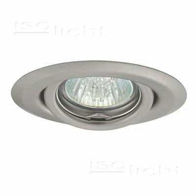 Isolicht Einbauspot 'Ulke' MR11, Gx4, schwenkbar, Chrom Matt von Isolicht auf Lampenhans.de