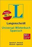 Langenscheidt Universal-Wörterbuch Spanisch: Spanisch-Deutsch/Deutsch-Spanisch