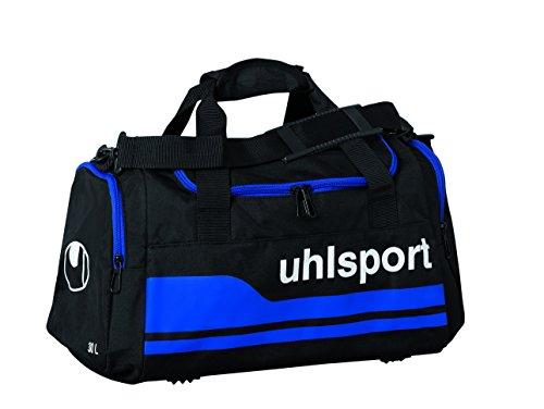 Uhlsport, Borsa sportiva Basic Line, Nero (Schwarz/Royal), M