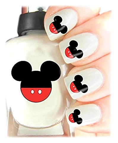Childrens Nail Art Stickers - Fun and easy to use! Ideal Christmas Present / Gift - Great Stocking Filler Mickey