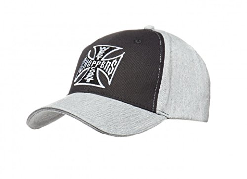 West Coast Choppers Cap OG Cross Hat, Farbe:black/grey;Größe:one size
