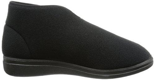 Rohde Bad Wiessee, Hi-Top Slippers mixte adulte Noir - Schwarz (schwarz 90)