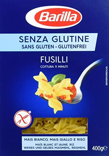 Barilla Pasta Fusilli glutenfrei aus Reis und Mais, 14er Pack (14 x 400 g)
