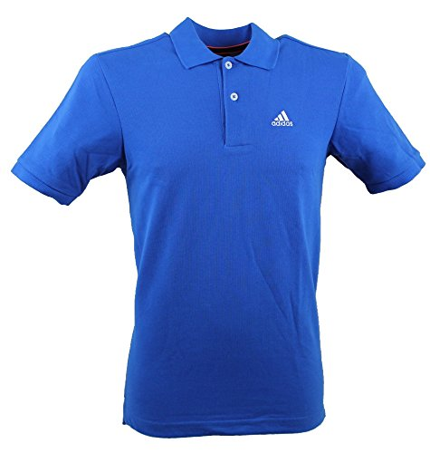 Adidas - Maglietta Polo da uomo Essentials Blue M